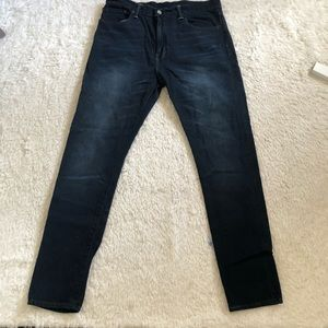 Levis 512 slim tapered leg jeans